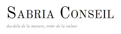 logo entreprise Sabria Conseil