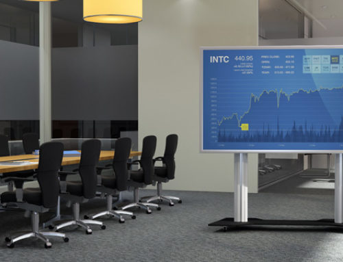 3 façons de communiquer sur grand écran en usine ou ailleurs